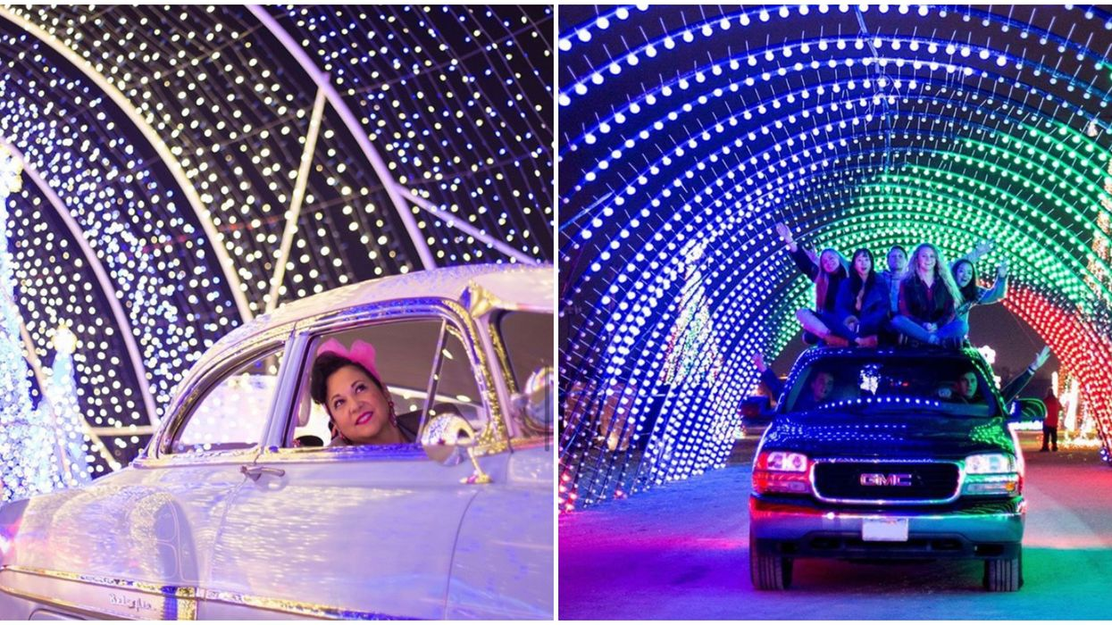 6 Places To Experience Massive Christmas Light Displays In California This Holiday Season