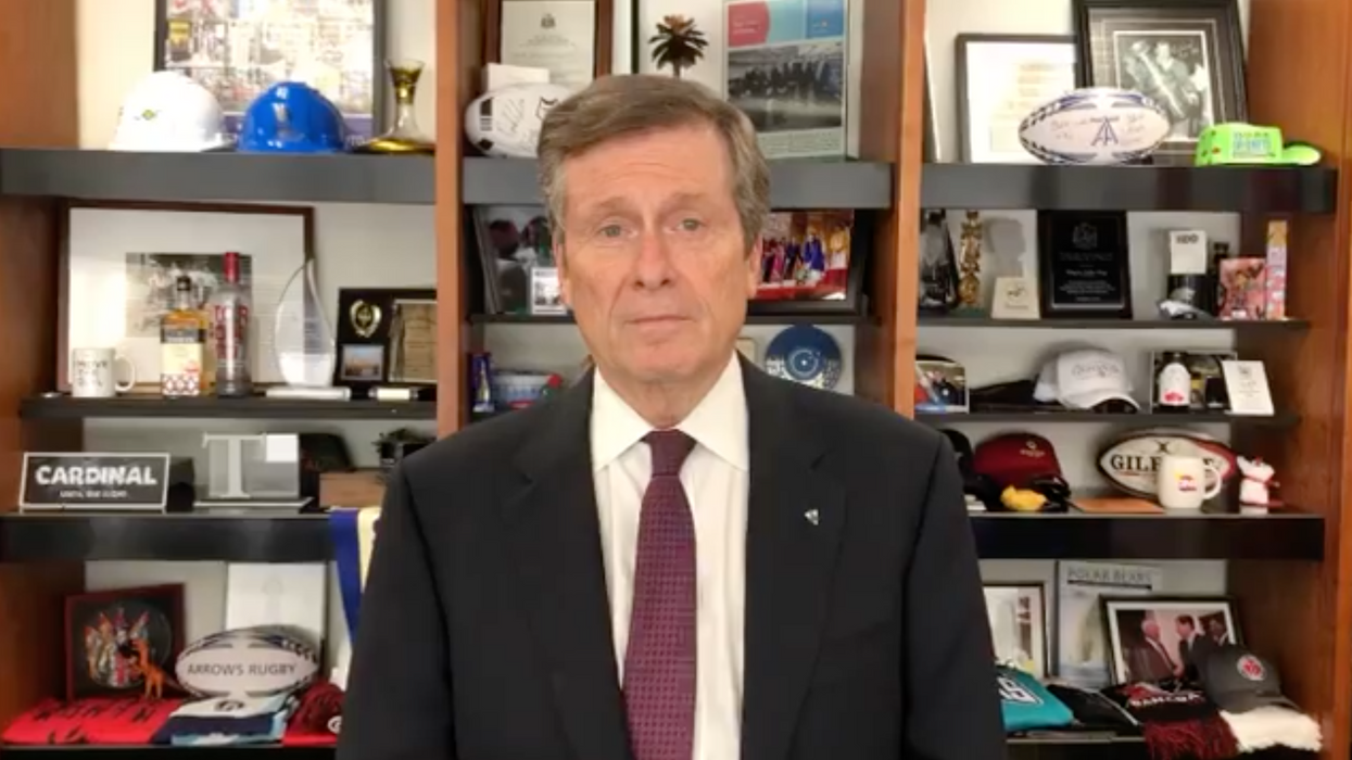 Mayor John Tory Opened Up About 'Agonizing' Decisions To Put Toronto In The Red Zone