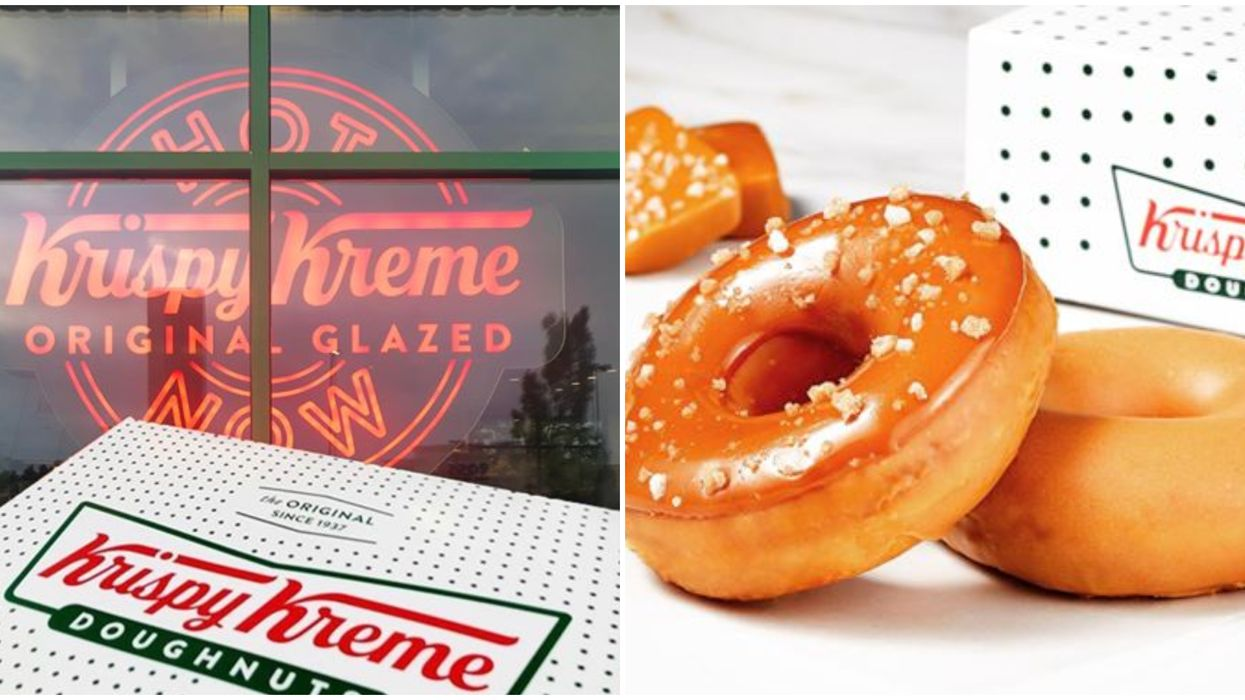 Krispy Kreme Canada Has 2 Brand New Donuts Available But Only For 2 Weeks