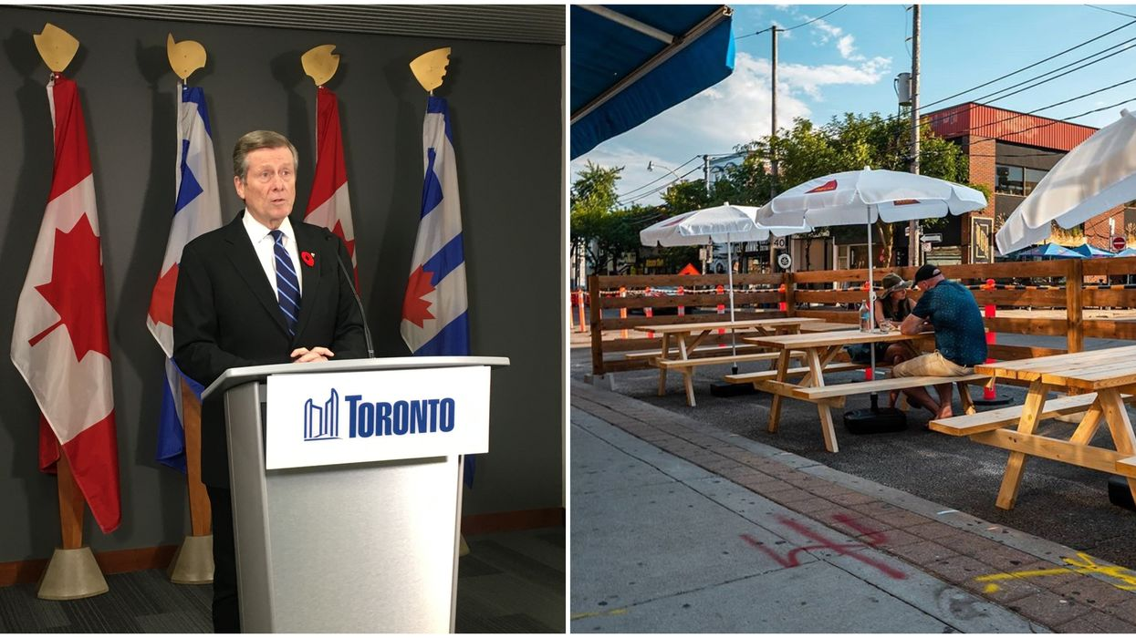Mayor Tory Says We're Not Getting Our Restaurants And Gyms Back This Weekend After All
