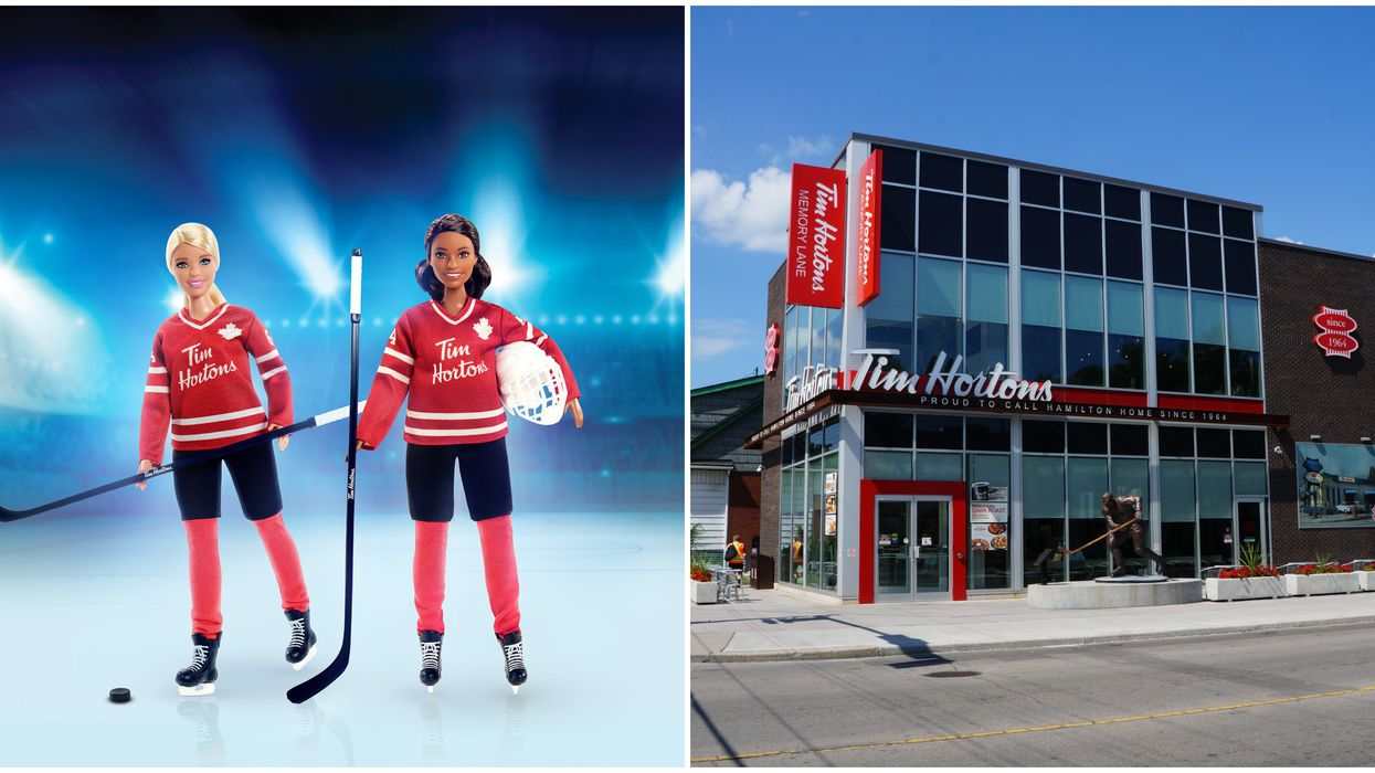 Tim Hortons' Barbie Dolls Are Out Now & Come Decked Out In Hockey Gear