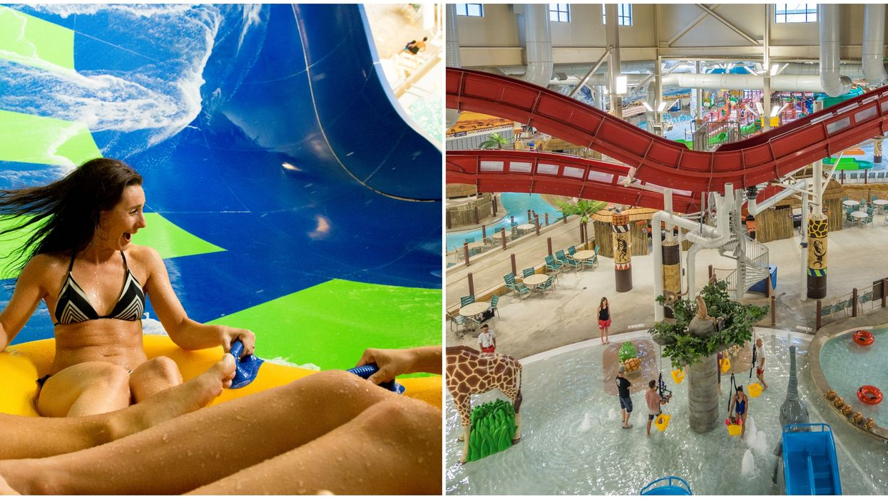 The Nation's Largest Indoor Water Park Just Opened In Austin And It's Insane