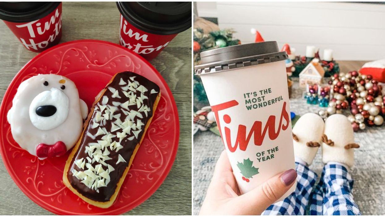 Tim Hortons Holiday Menu Items Have Been Spotted In Restaurants Across Canada