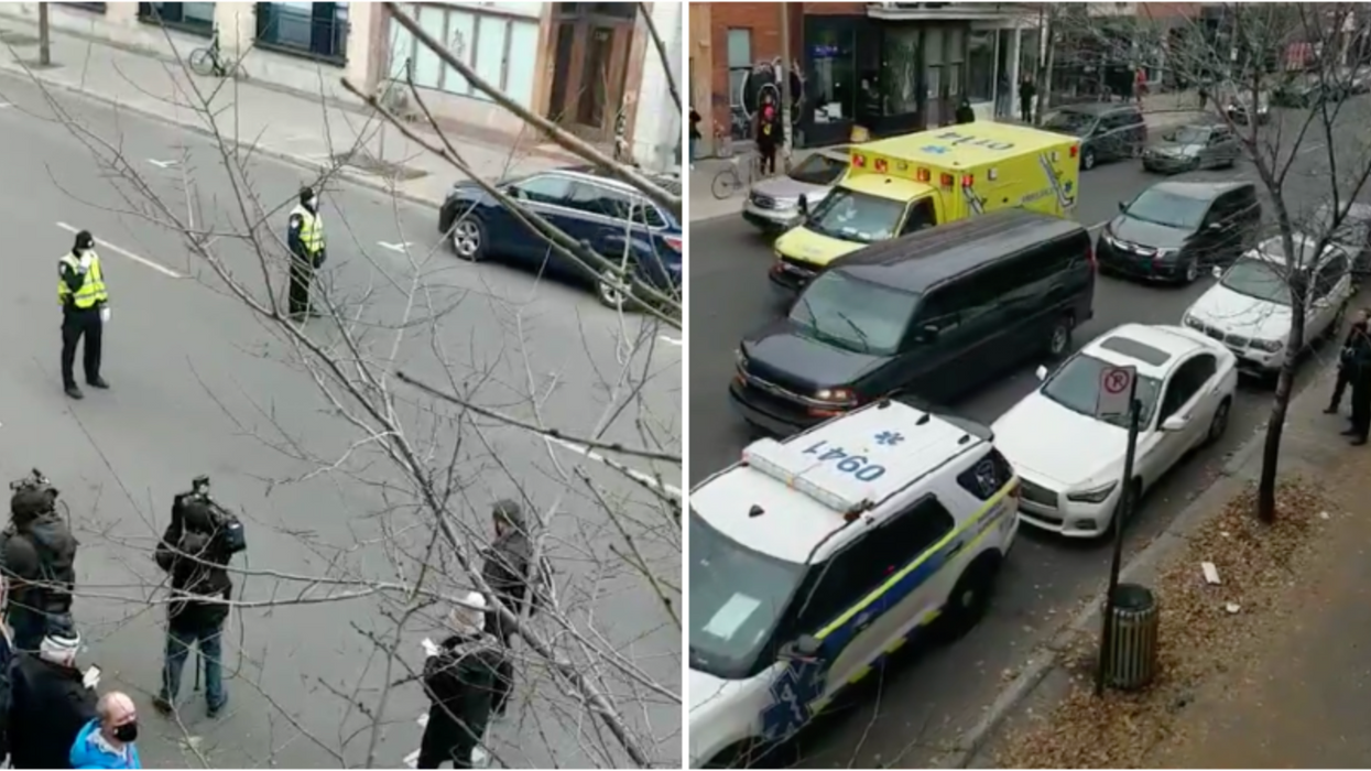 Opération policière près d'Ubisoft à Montréal: Le SPVM demande d'éviter le secteur (Vidéo)