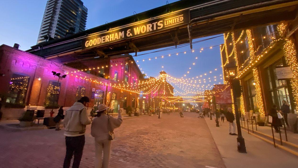 Toronto's Distillery District Just Transformed Into A Winter Village (PHOTOS)
