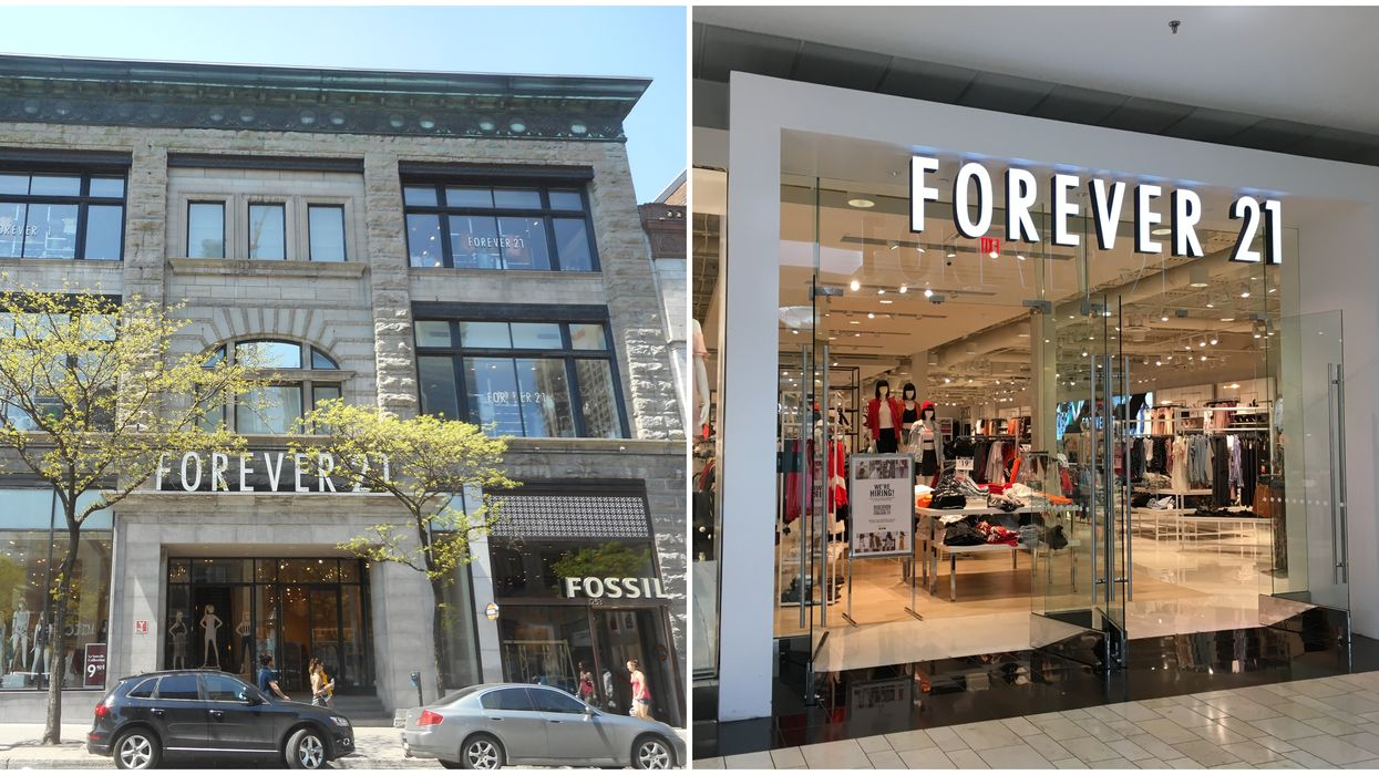 Forever 21 Canada's Online Store Is Back & Offering Up To 50% Off