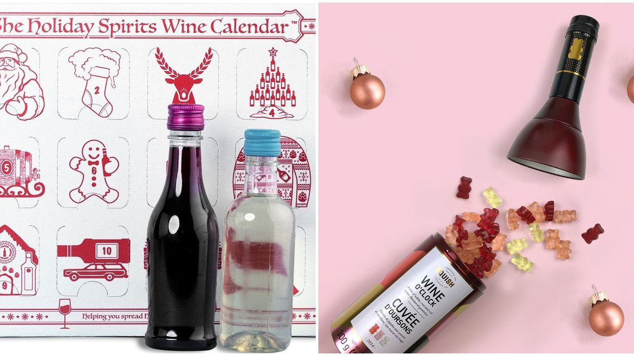Wine Advent Calendar Gift Ideas To Put Your BFF In The Holiday Spirit
