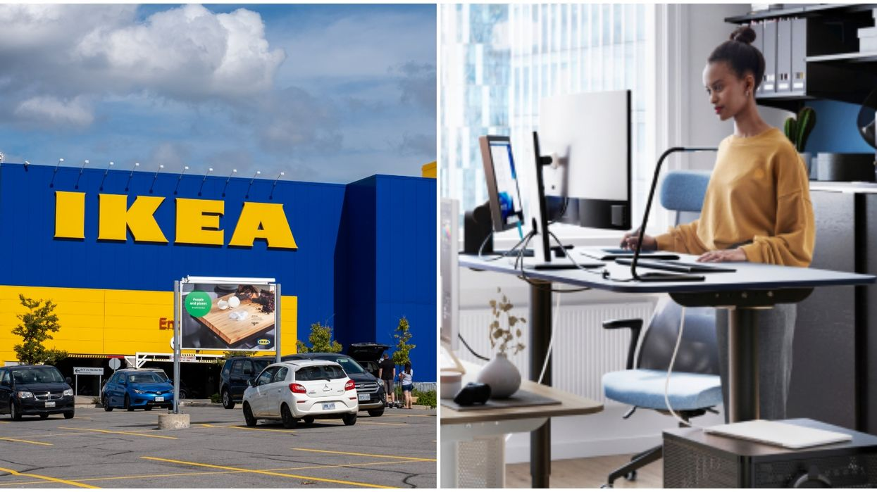 IKEA Canada Sold Over 630,000 Desks This Year Because So Many People Are Working From Home