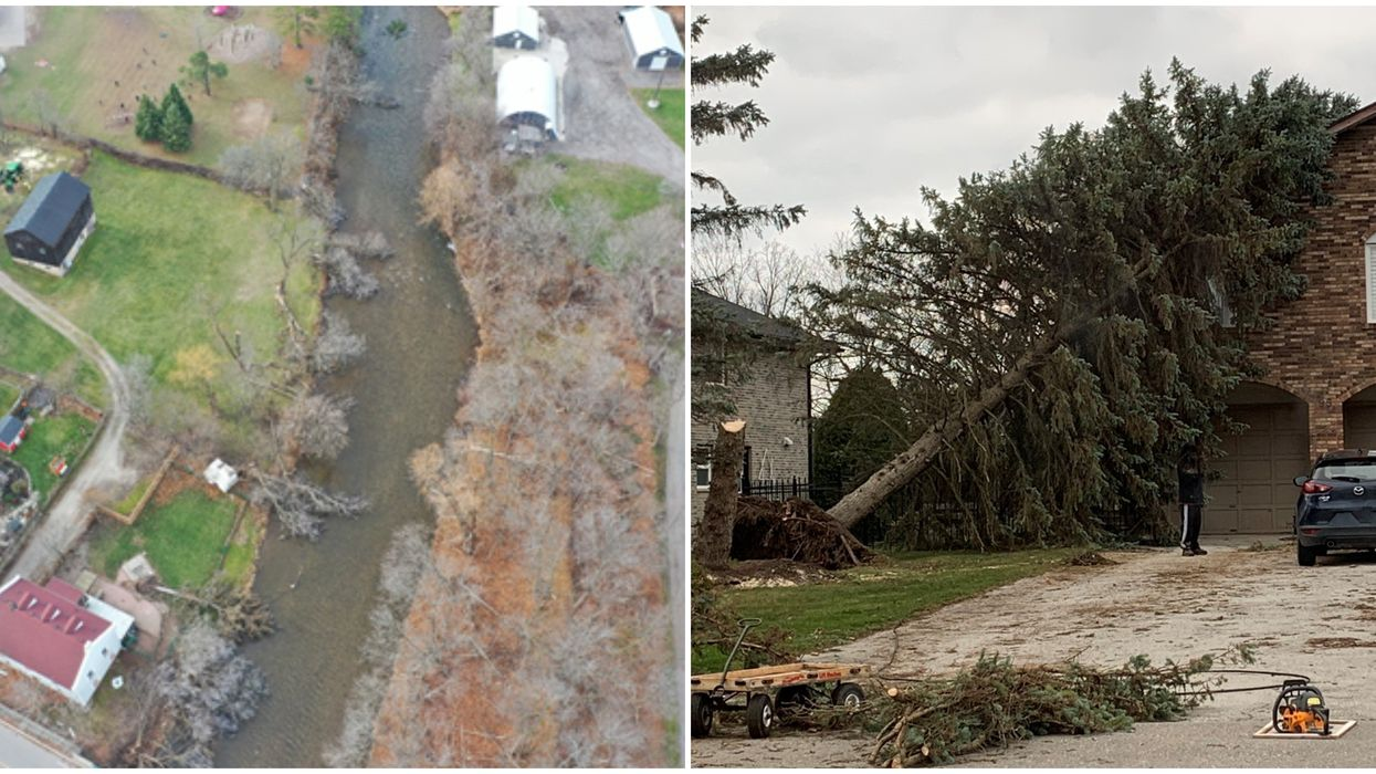 Tornadoes In Ontario: One Was Confirmed In Georgetown & It's Unusual For This Time Of Year