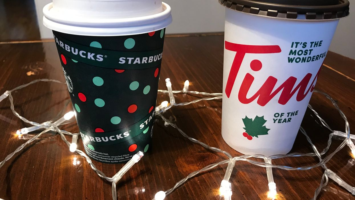 I Tried Tim Hortons vs Starbucks New Peppermint Hot Chocolate & This Is My Honest Opinion