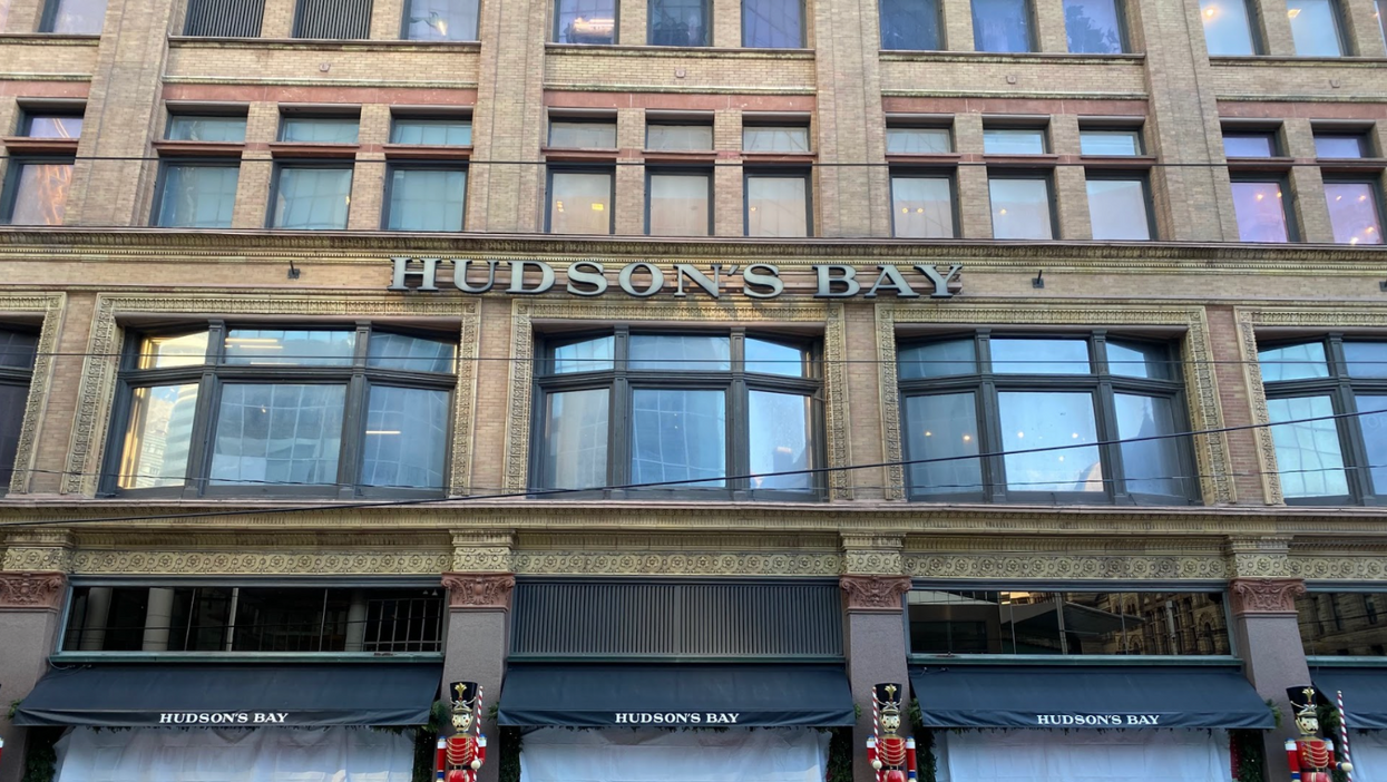Hudson's Bay Shuts Its Doors In Toronto After Ford Calls Their Opening Unfair