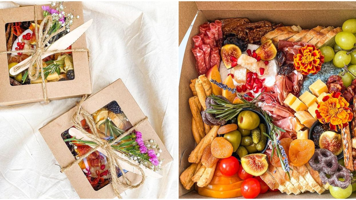 Toronto Charcuterie Box Boutique Has The Most Gorgeous Holiday Picnic Boxes In The City