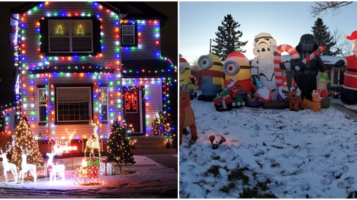 This Map Shows You Calgary's Most Festive Christmas Lights & You Can Enjoy From Your Car