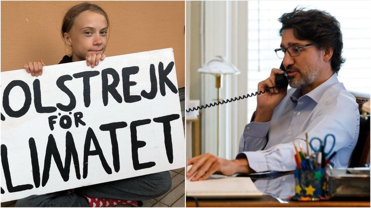 Two Russians Pretended To Be Greta Thunberg & Prank-Called Justin Trudeau