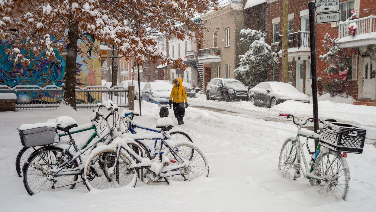 On annonce un autre 10 cm de neige dans le Grand Montréal dès demain