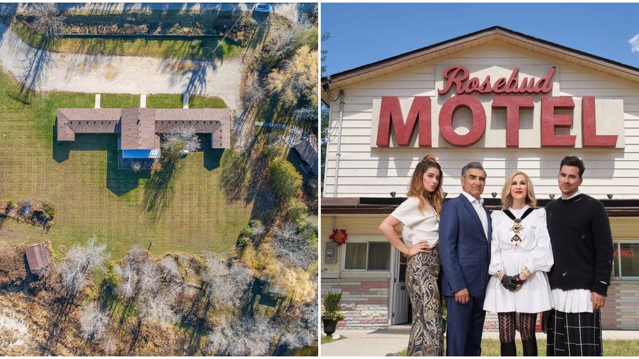 Schitt's Creek Rosebud Motel In Ontario Is For Sale Right Now For $2 Million