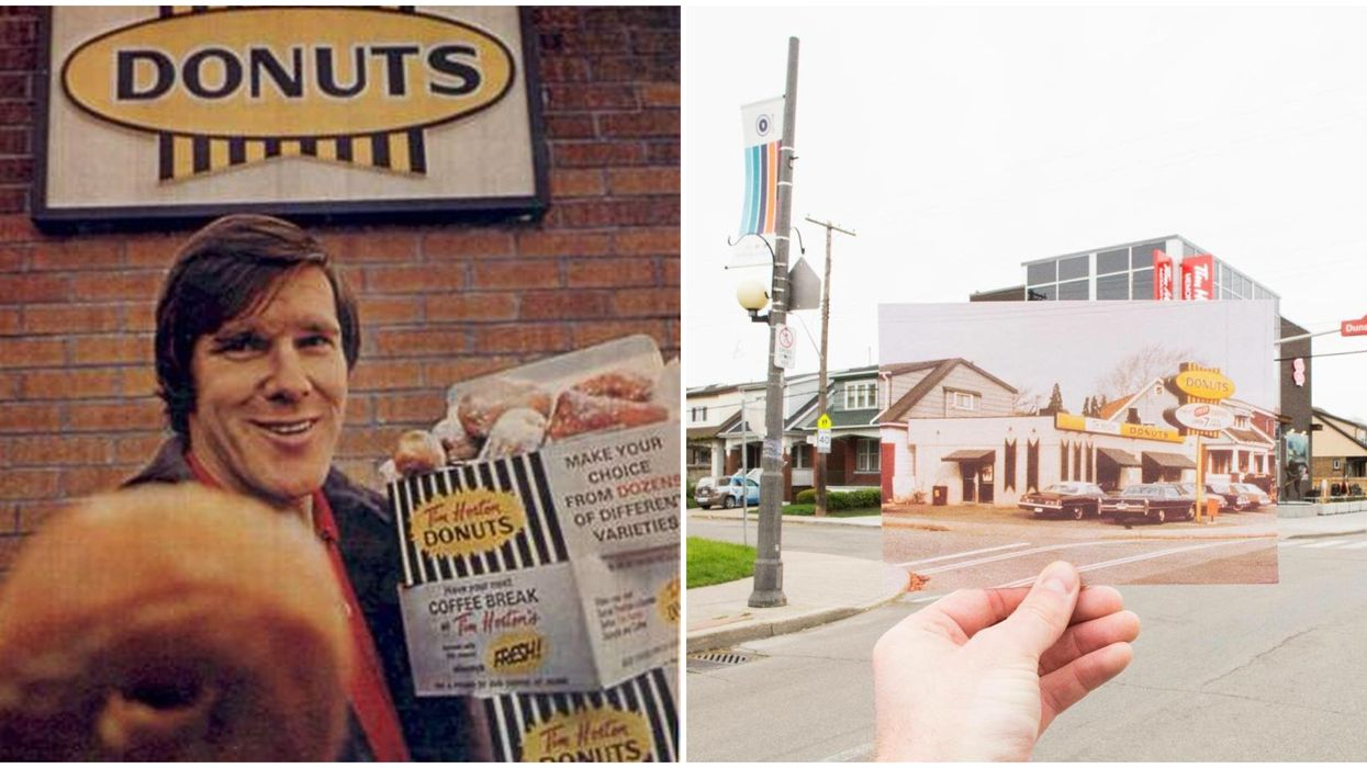 Tim Hortons Being Named After An Actual Person Is Shocking To This Canadian