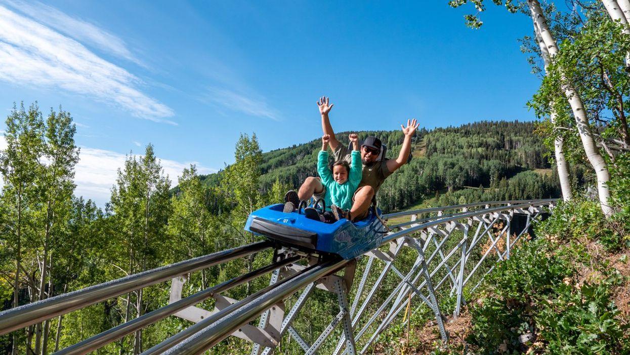 Colorado Alpine Roller Coaster Rocky Mountains