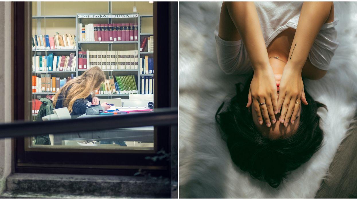 Santé mentale: Ces étudiants au cégep se confient sur les difficultés des cours à distance