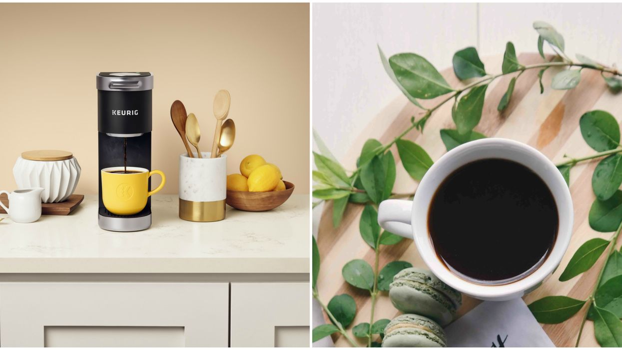 This Adorable Mini Coffee Maker Is The Perfect Gift For The Coffee Lover In Your Life