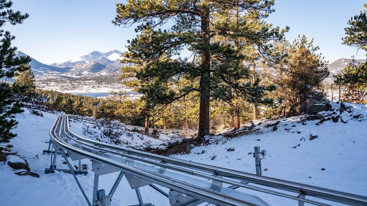 Mustang Mountain Coaster Sneak Peek Colorado Rocky Mountains Alpine Roller Coaster