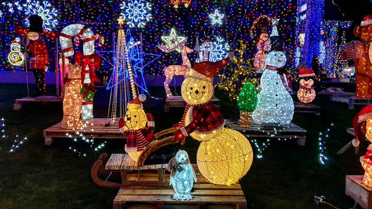 This Ontario Home Wins Christmas With Its Over The Top Display (VIDEOS)