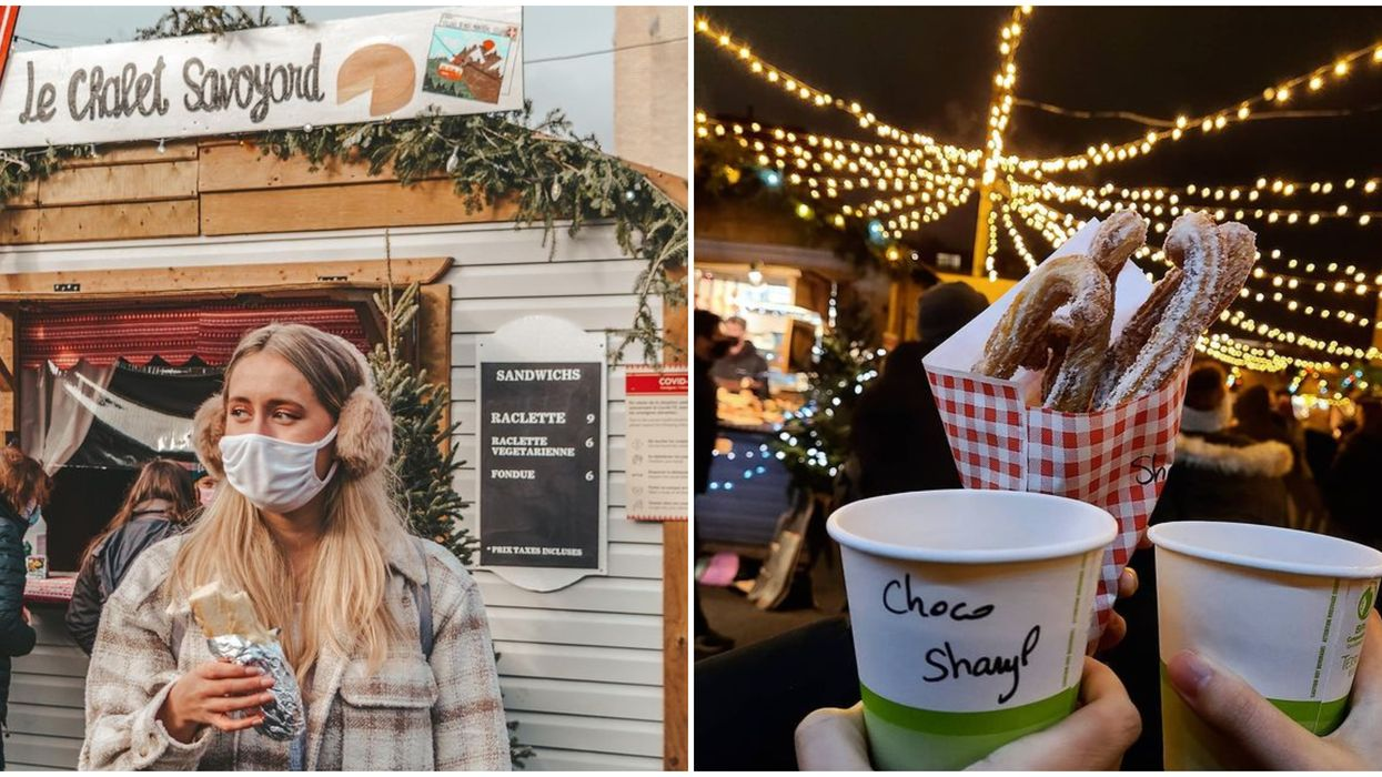 Le Village de Noël à Montréal est ouvert et c'est ultra festif malgré les mesures (PHOTOS)
