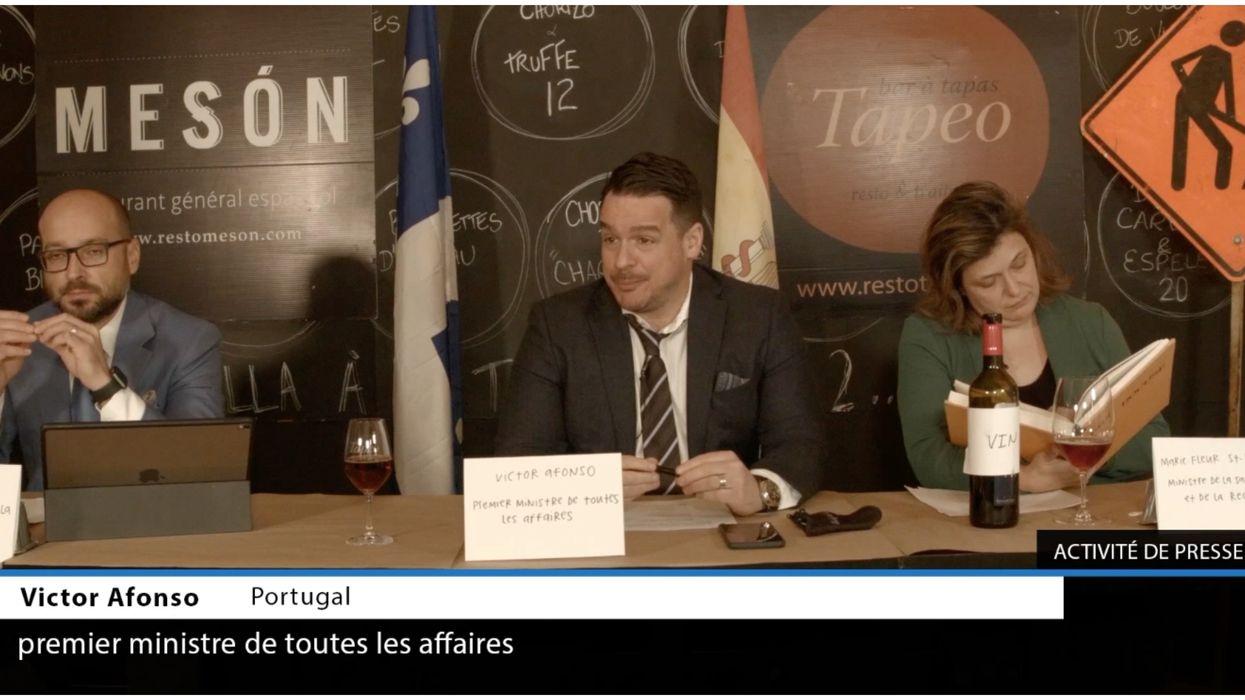 Des restaurateurs québécois se moquent des conférences de presse de François Legault