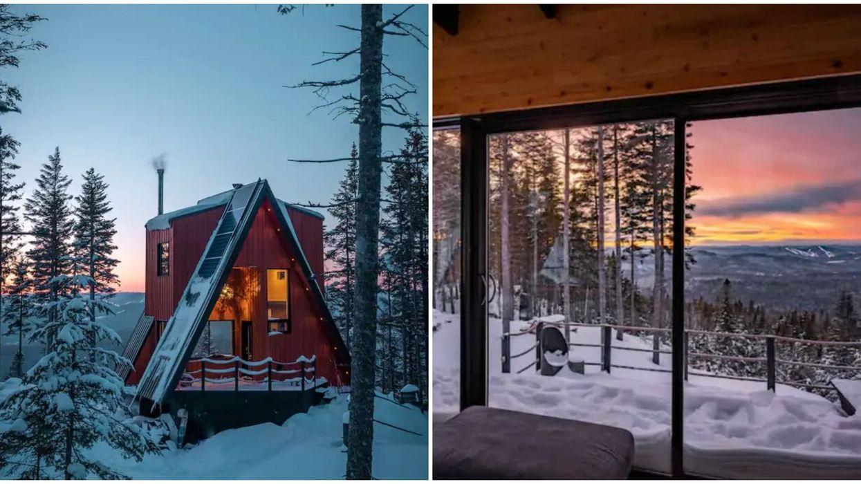Airbnb : cabine cachée au Québec pour 2021