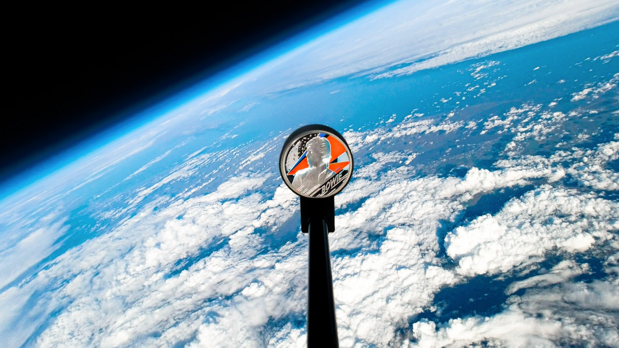 A David Bowie Coin Was Sent Into Space & There Was A Special Reason Why (VIDEO)