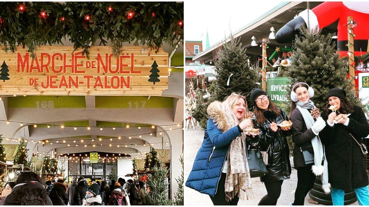 Le 1er Marché de Noël de Jean-Talon est ouvert et voici de quoi ça a l'air (PHOTOS)