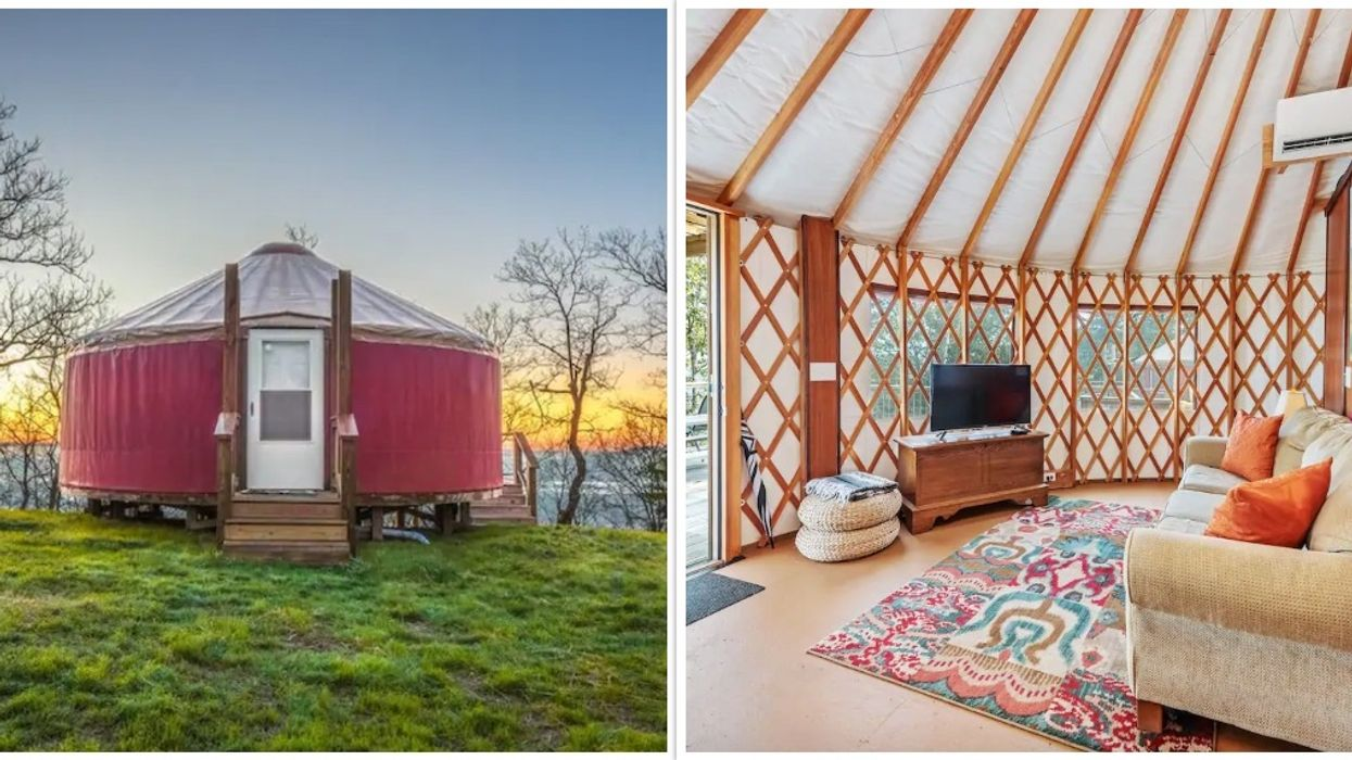 Cherry Blossom Yurt Lookout Mountain Georgia Airbnb