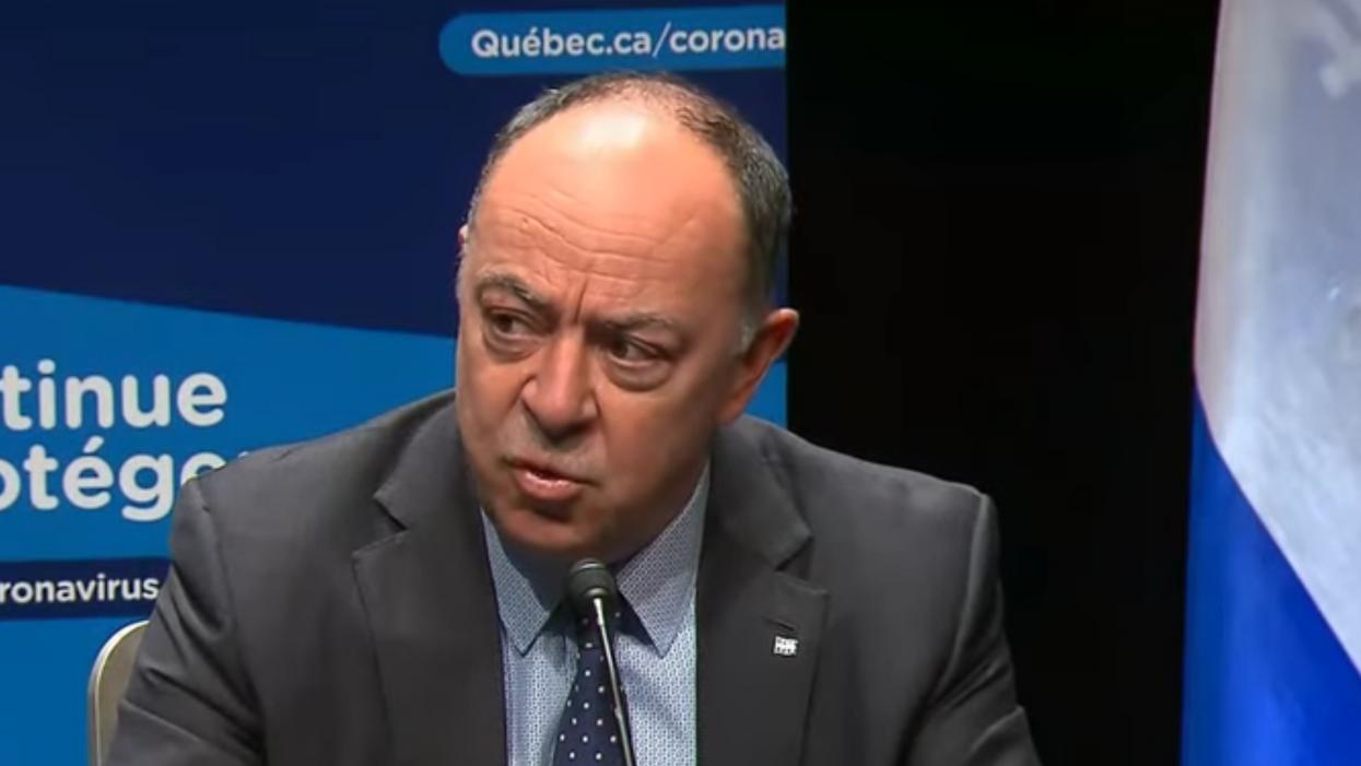 Christian Dubé rassure les Québécois sur son état de santé