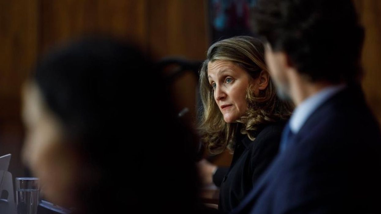 Canada's Deputy PM Said She Would Get The COVID-19 Vaccine Publicly To 'Reassure' Others