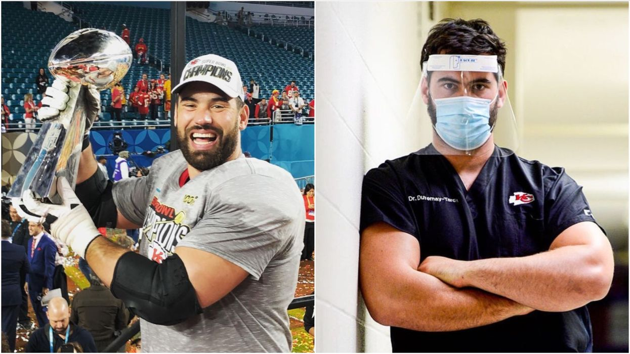Laurent Duvernay-Tardif Was Named 'Sportsperson Of The Year' For The Best Reason (VIDEO)