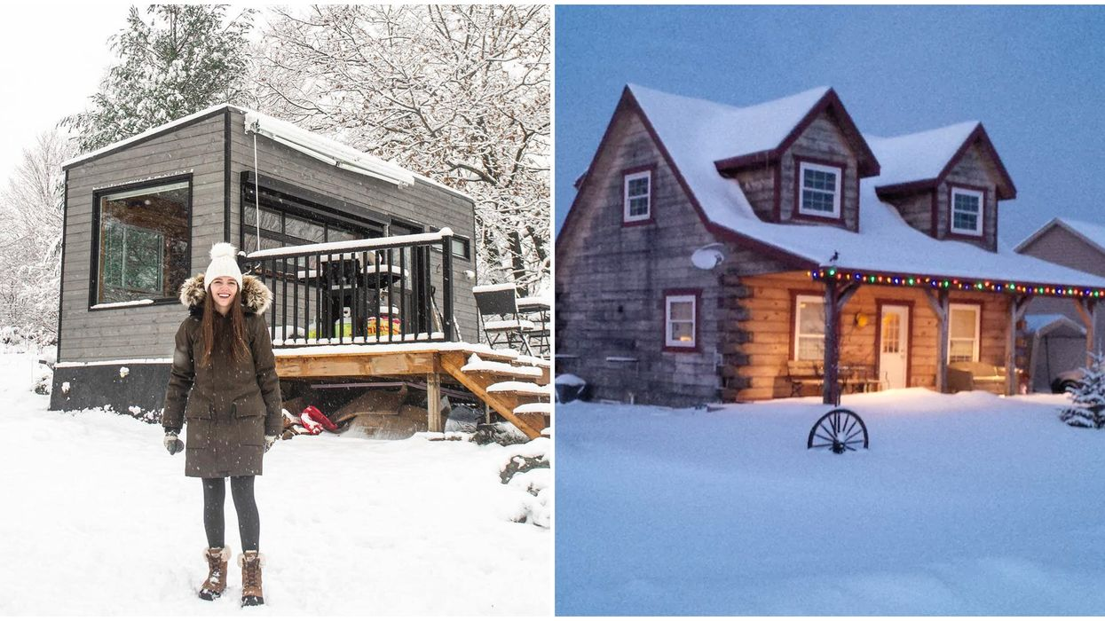 9 Cabins In Ontario That Are Perfect For A Last-Minute Winter Getaway