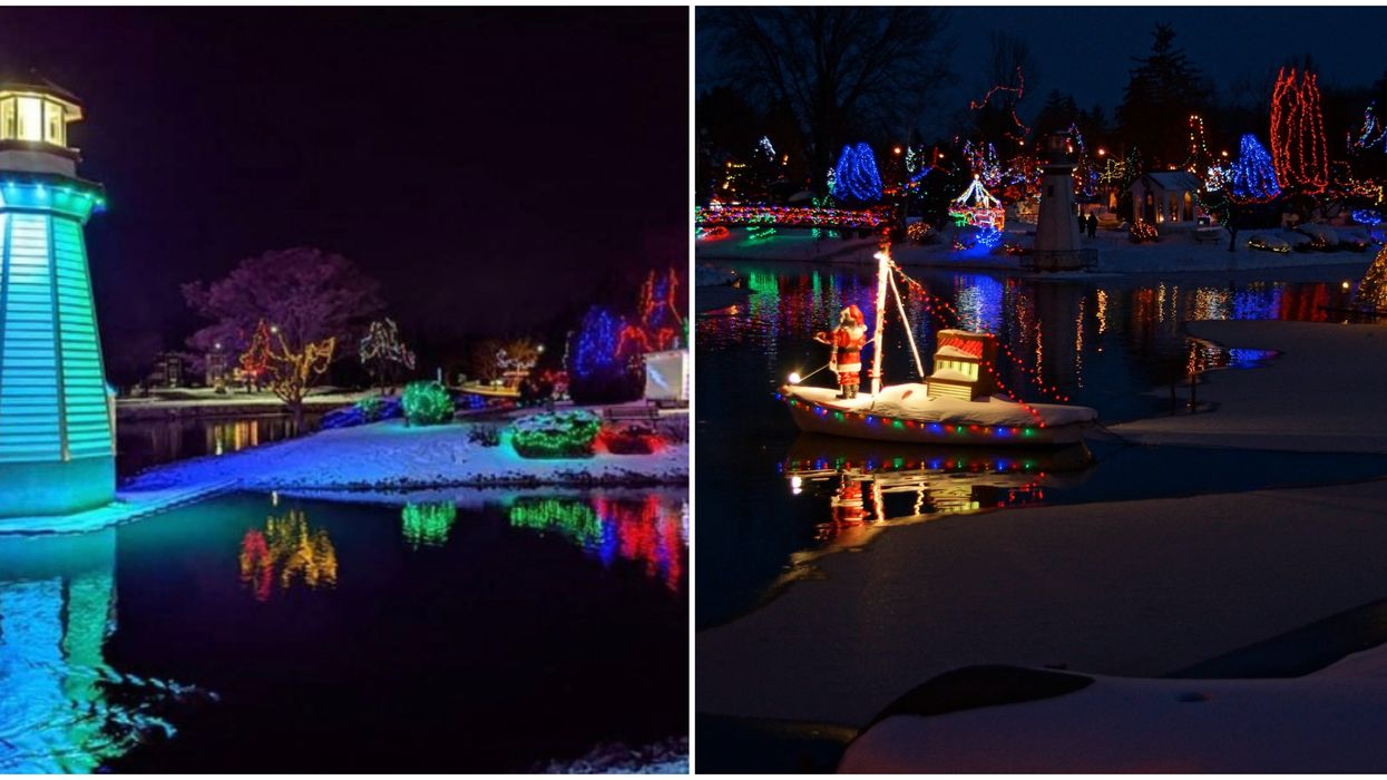 You Can Drive-Thru A Twinkling Utopia Of Lights For Free In Ontario This Month
