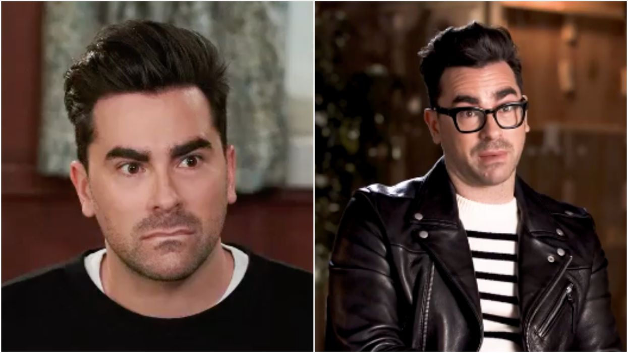 Dan Levy's Facial Expressions Are All Over The Internet & The Reason Why Is Perfect