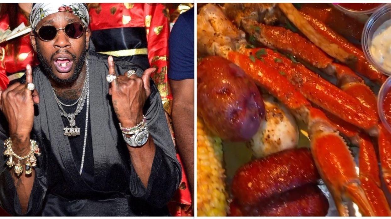 2 Chainz Rapper Atlanta Esco Seafood Restaurant