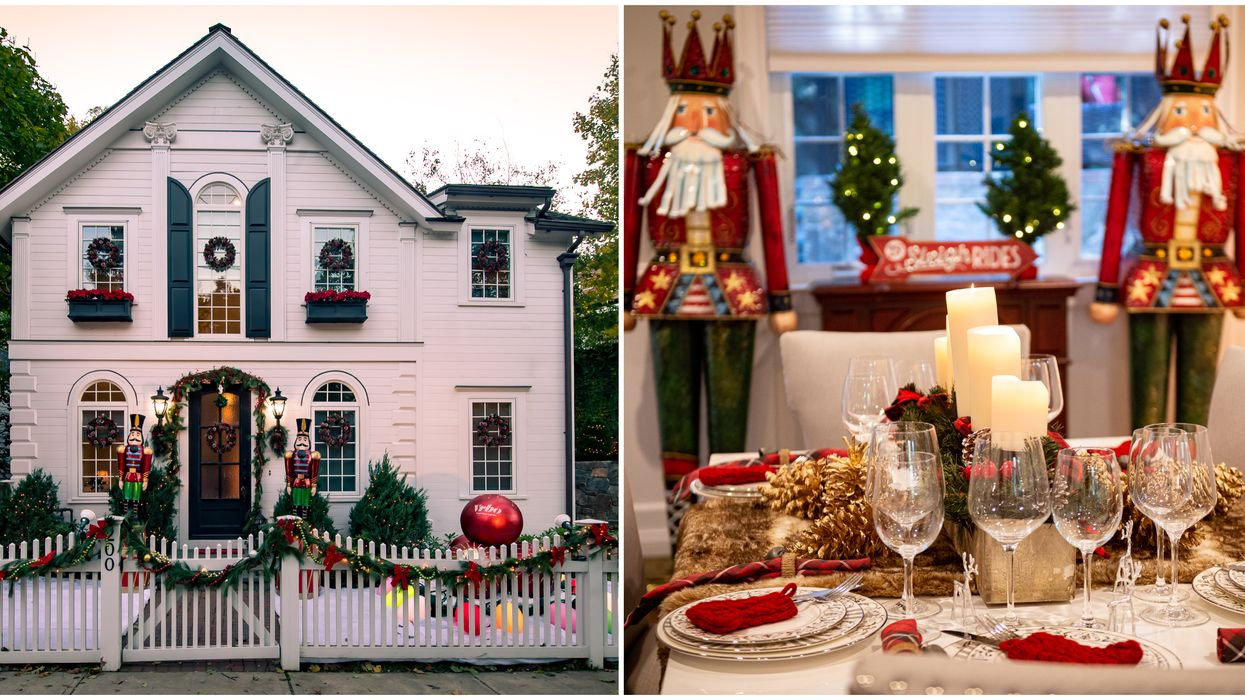 This All-Out Christmas Home For Rent In Connecticut Belongs In The North Pole (PHOTOS)