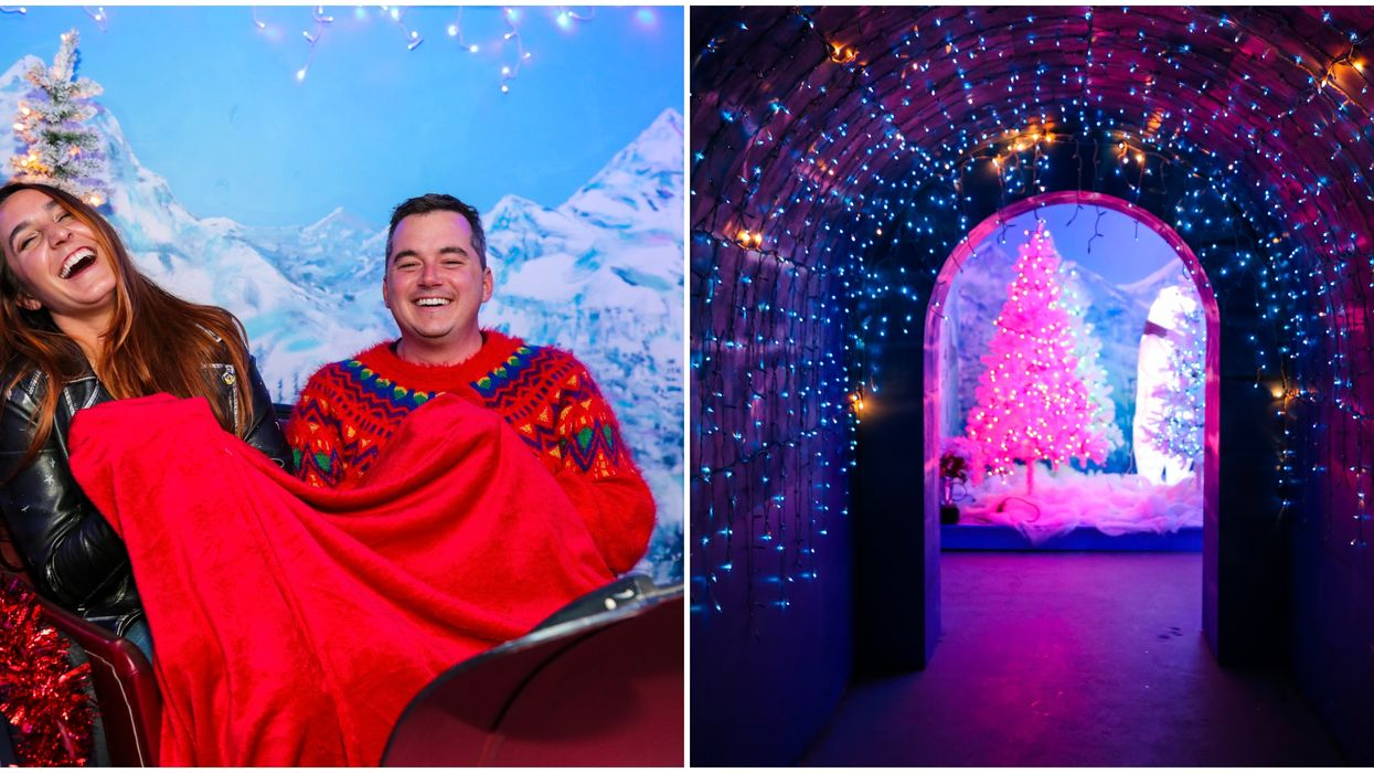 This Magical Houston Winter Wonderland Bar Is Bringing 'Snow' To H-Town