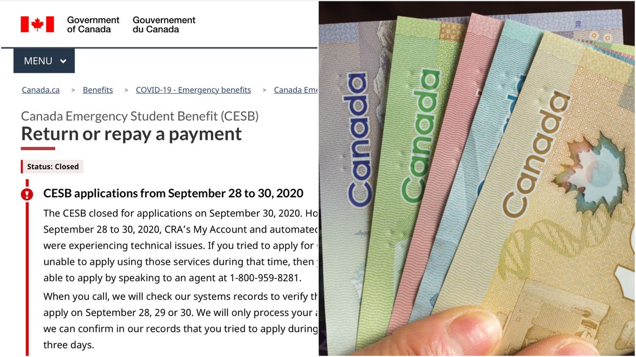 CESB Repayments: Some Canadians Who Claimed This Benefit Will Also Need To Return Money