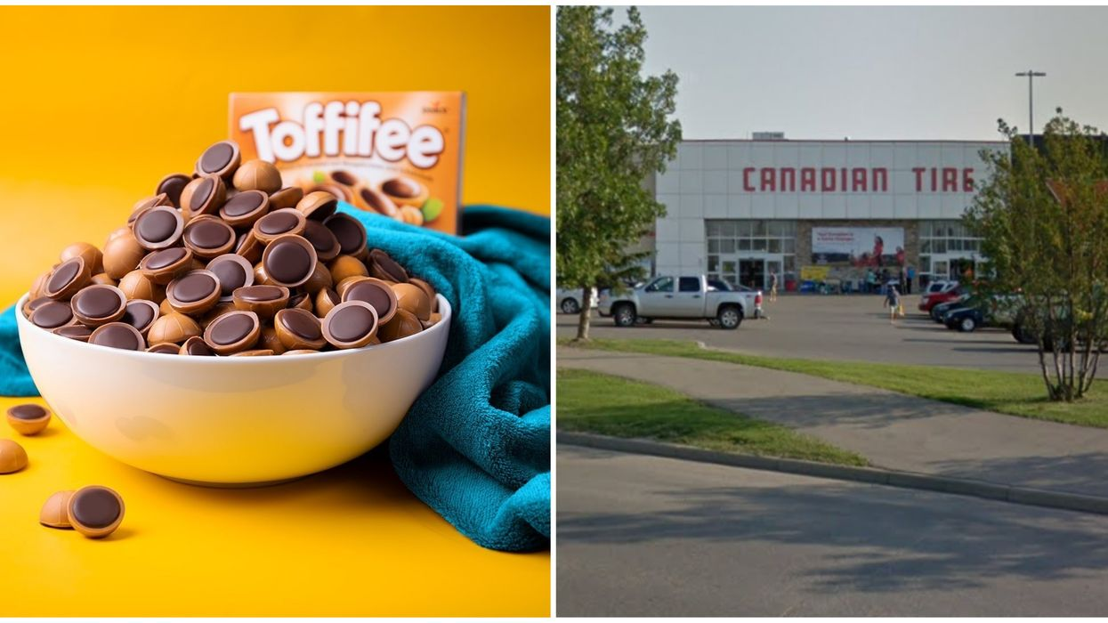 Canadian Tire Location In Saskatchewan Sells The Most Toffifee In The World