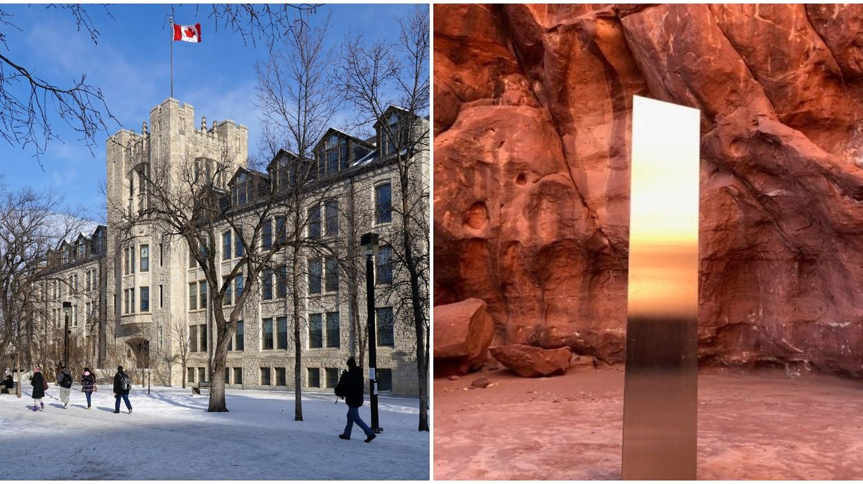 Canada Just Got Its Own Mysterious Monolith & It's Raising A Lot Of Questions (PHOTOS)