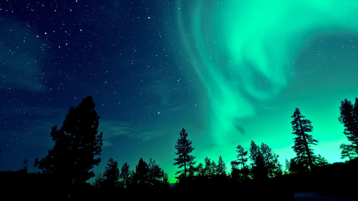 Northern Lights Aurora United States