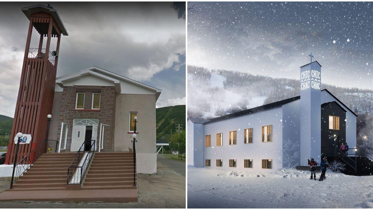 Une ancienne église en Gaspésie sera changée en resto-bar trendy d'1,2 M$ d'investissement