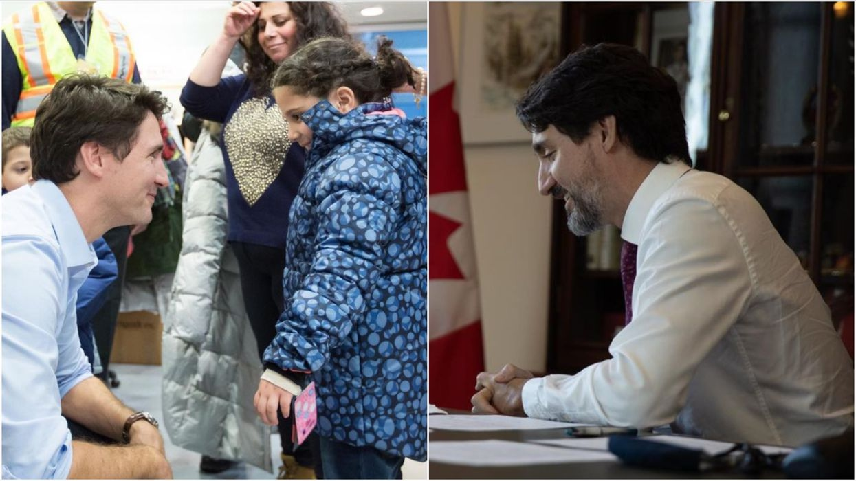 'Operation Syrian Refugees' Anniversary Is Today & Trudeau Shared The Sweetest Message