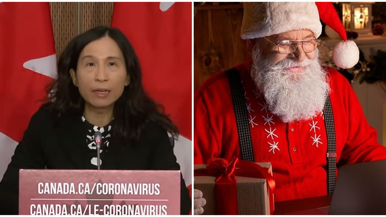 Christmas In Canada During COVID-19 Has Been Planned By Dr. Theresa Tam & Santa Claus