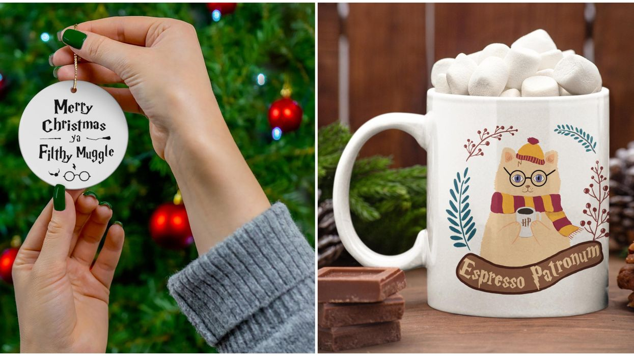 11 Harry Potter Christmas Goodies That Will Transform Your Home Into Hogwarts