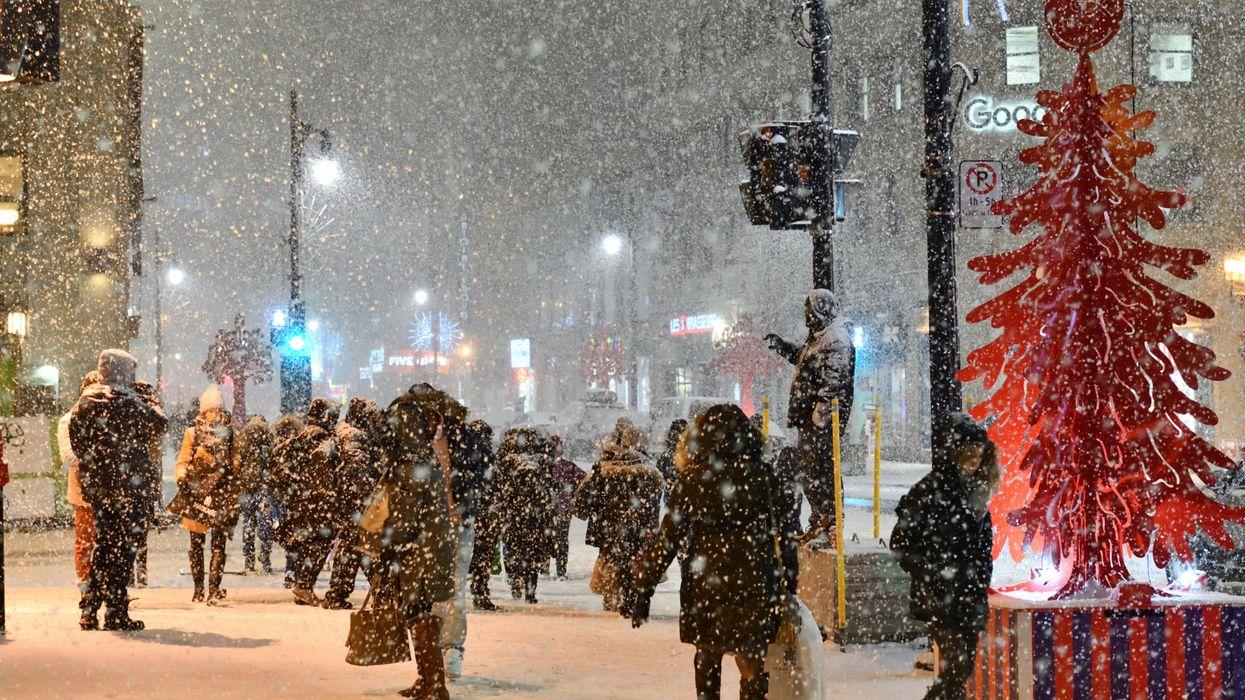 Noël Montréal : Voici les chances d'avoir un Noël blanc cette année